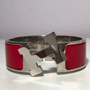 authentic HERMÈS clik clak H bracelet Size PM $650